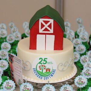 Orchard team celebrating company's 25th anniversary
