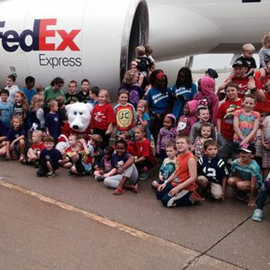 Orchard Families at Special Olympics Plane pull event