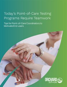 Today's Point-of-Care Testing Programs Require Teamwork
