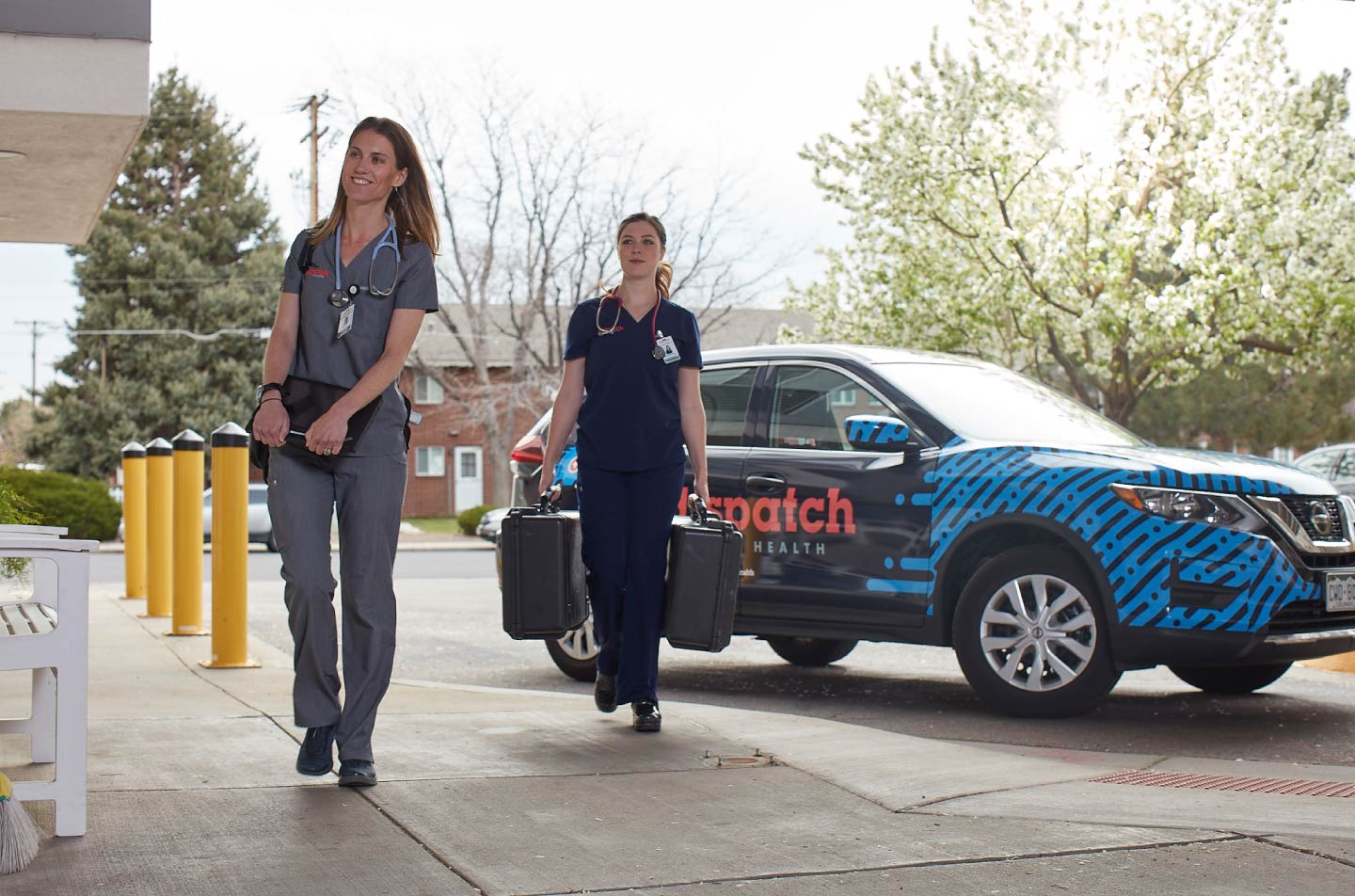 Orchard Partners with DispatchHealth to Manage POCT for In-home Care